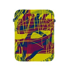 Yellow high art abstraction Apple iPad 2/3/4 Protective Soft Cases