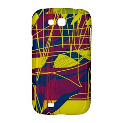 Yellow high art abstraction Samsung Galaxy Grand GT-I9128 Hardshell Case