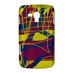 Yellow high art abstraction Samsung Galaxy Duos I8262 Hardshell Case