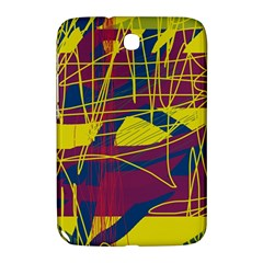 Yellow high art abstraction Samsung Galaxy Note 8.0 N5100 Hardshell Case