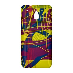 Yellow high art abstraction HTC One Mini (601e) M4 Hardshell Case