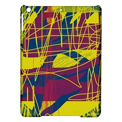 Yellow high art abstraction iPad Air Hardshell Cases