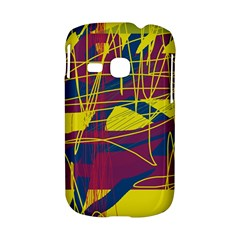 Yellow high art abstraction Samsung Galaxy S6310 Hardshell Case