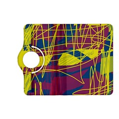 Yellow high art abstraction Kindle Fire HD (2013) Flip 360 Case