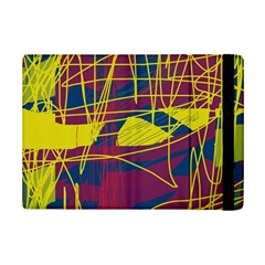 Yellow high art abstraction iPad Mini 2 Flip Cases