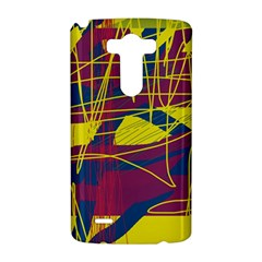 Yellow high art abstraction LG G3 Hardshell Case