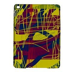Yellow high art abstraction iPad Air 2 Hardshell Cases