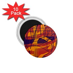Orange high art 1.75  Magnets (10 pack)