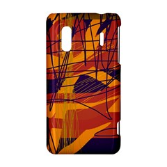 Orange high art HTC Evo Design 4G/ Hero S Hardshell Case