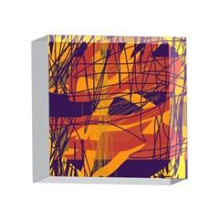 Orange high art 4 x 4  Acrylic Photo Blocks
