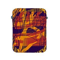 Orange high art Apple iPad 2/3/4 Protective Soft Cases