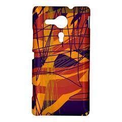 Orange high art Sony Xperia SP