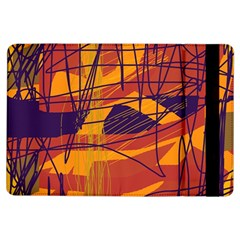 Orange high art iPad Air Flip