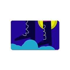 Walking on the clouds  Magnet (Name Card)