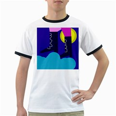 Walking on the clouds  Ringer T-Shirts