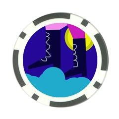 Walking on the clouds  Poker Chip Card Guards