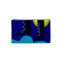 Walking on the clouds  Cosmetic Bag (Small)