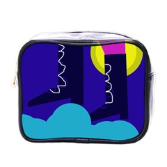 Walking on the clouds  Mini Toiletries Bags