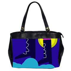 Walking on the clouds  Office Handbags (2 Sides)