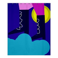 Walking on the clouds  Shower Curtain 60  x 72  (Medium)