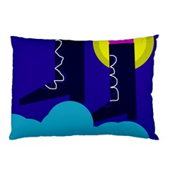 Walking on the clouds  Pillow Case (Two Sides)