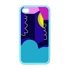 Walking on the clouds  Apple iPhone 4 Case (Color)