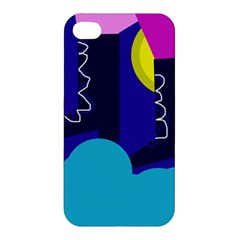 Walking on the clouds  Apple iPhone 4/4S Hardshell Case