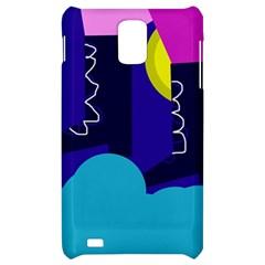 Walking on the clouds  Samsung Infuse 4G Hardshell Case