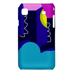 Walking on the clouds  Samsung Galaxy S i9008 Hardshell Case