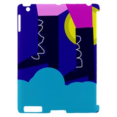 Walking on the clouds  Apple iPad 2 Hardshell Case (Compatible with Smart Cover)