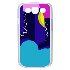 Walking on the clouds  Samsung Galaxy S III Case (White)