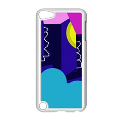 Walking on the clouds  Apple iPod Touch 5 Case (White)