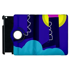 Walking on the clouds  Apple iPad 2 Flip 360 Case