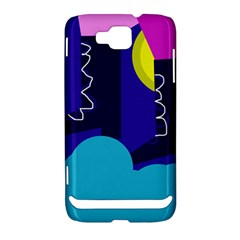 Walking on the clouds  Samsung Ativ S i8750 Hardshell Case