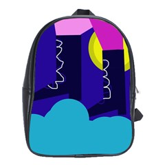 Walking on the clouds  School Bags (XL)