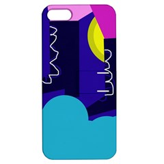 Walking on the clouds  Apple iPhone 5 Hardshell Case with Stand