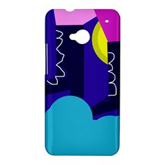 Walking on the clouds  HTC One M7 Hardshell Case