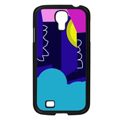 Walking on the clouds  Samsung Galaxy S4 I9500/ I9505 Case (Black)