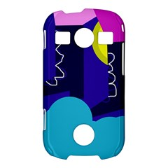 Walking on the clouds  Samsung Galaxy S7710 Xcover 2 Hardshell Case