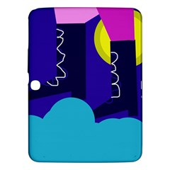 Walking on the clouds  Samsung Galaxy Tab 3 (10.1 ) P5200 Hardshell Case