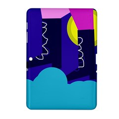 Walking on the clouds  Samsung Galaxy Tab 2 (10.1 ) P5100 Hardshell Case