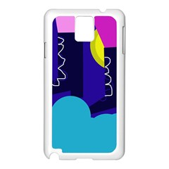 Walking on the clouds  Samsung Galaxy Note 3 N9005 Case (White)