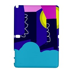 Walking on the clouds  Samsung Galaxy Note 10.1 (P600) Hardshell Case
