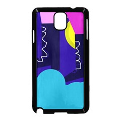 Walking on the clouds  Samsung Galaxy Note 3 Neo Hardshell Case (Black)