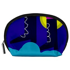 Walking on the clouds  Accessory Pouches (Large)