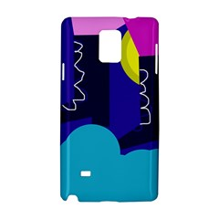 Walking on the clouds  Samsung Galaxy Note 4 Hardshell Case