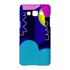 Walking on the clouds  Samsung Galaxy A5 Hardshell Case