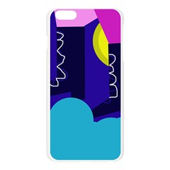 Walking on the clouds  Apple Seamless iPhone 6 Plus/6S Plus Case (Transparent)