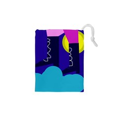 Walking on the clouds  Drawstring Pouches (XS)
