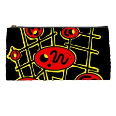 Red and yellow hot design Pencil Cases